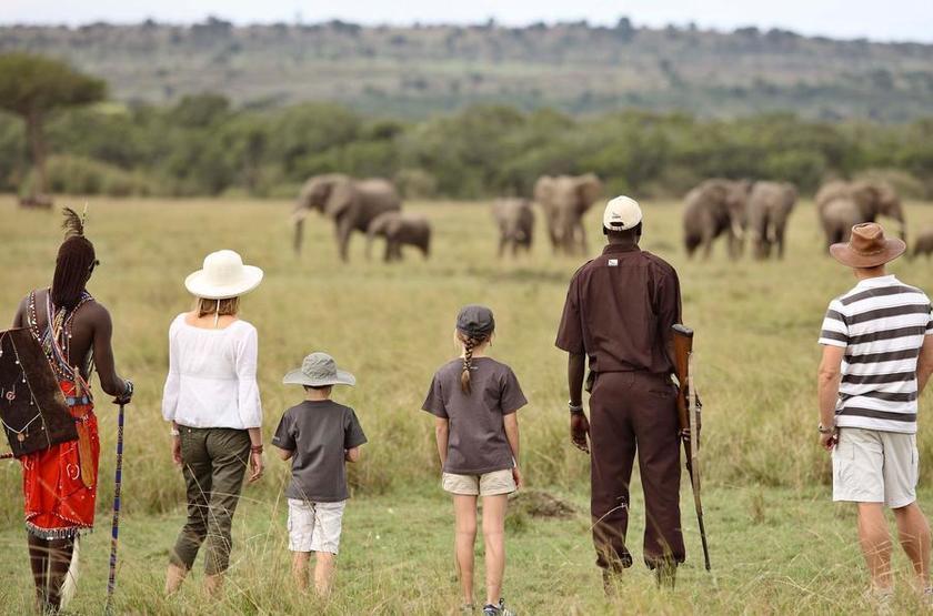 &Beyond Kichwa Tembo, Masai Mara, Kenya, safari à pied