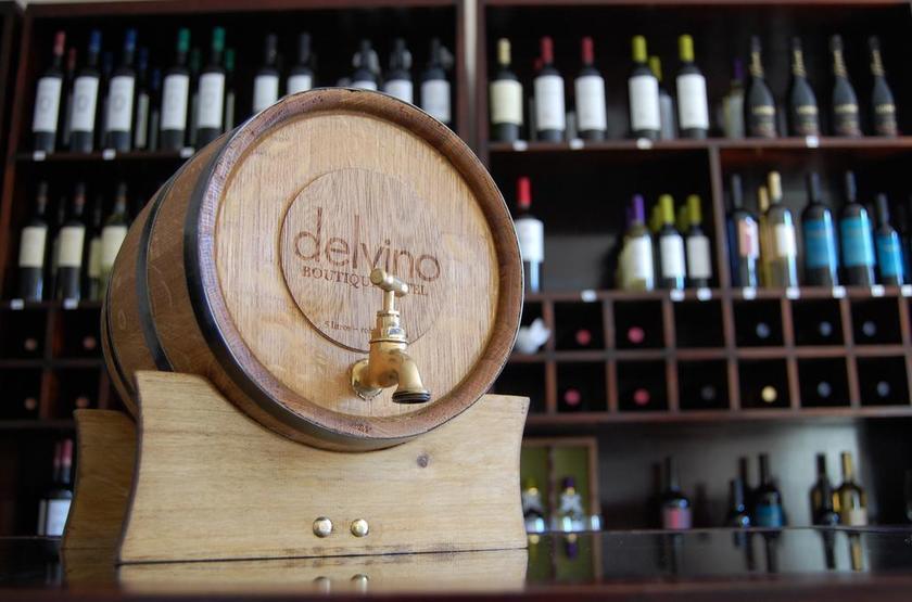 Argentine - Delvino - Décoration sur le thème du vin