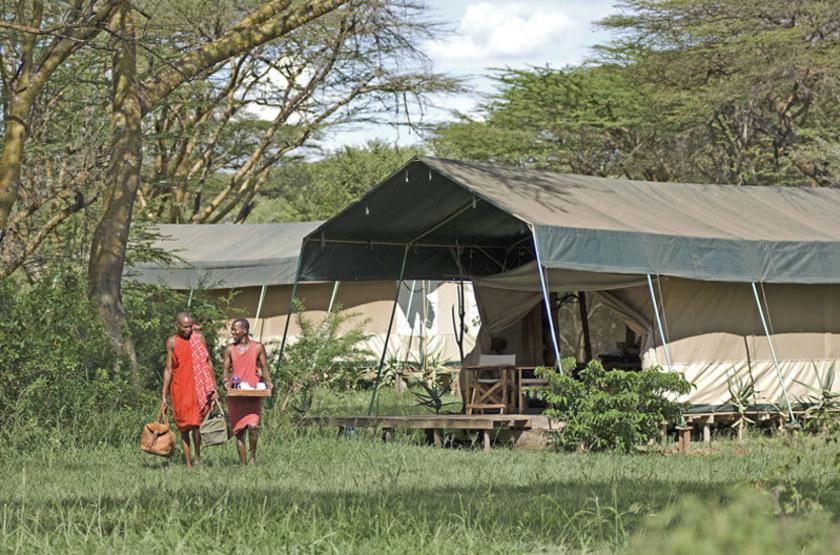 Mara Porini Camp, Ol Kinyu, Masai Mara, Kenya, extérieur