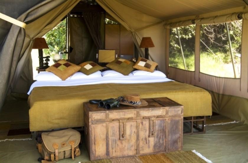 Kilima Safari Camp, Amboseli, Kenya, intérieur tente