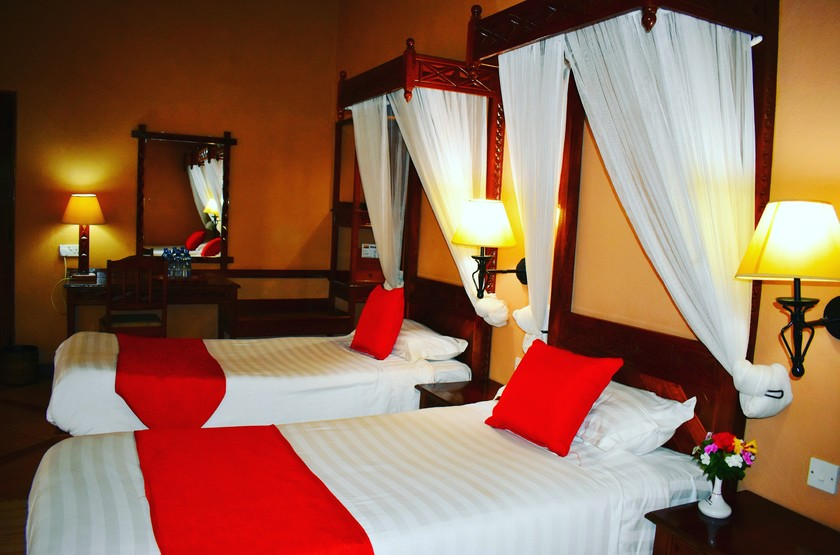 Lake Nakuru Lodge, Kenya, chambre standard