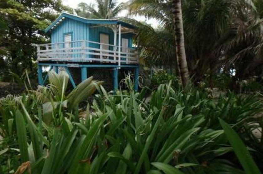 Ranguana Caye Cabanas, Belize, île de Placencia, cabanas