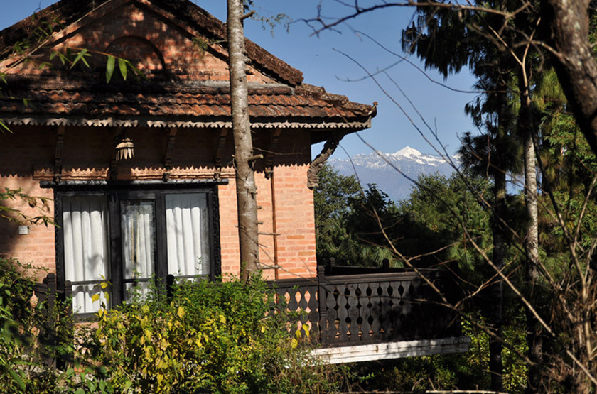 Népal - Fort Resort Nagarkot - Cottage