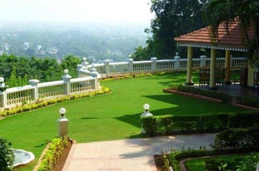 The Gateway Hotel Pasumalai, Madurai, Inde, jardin