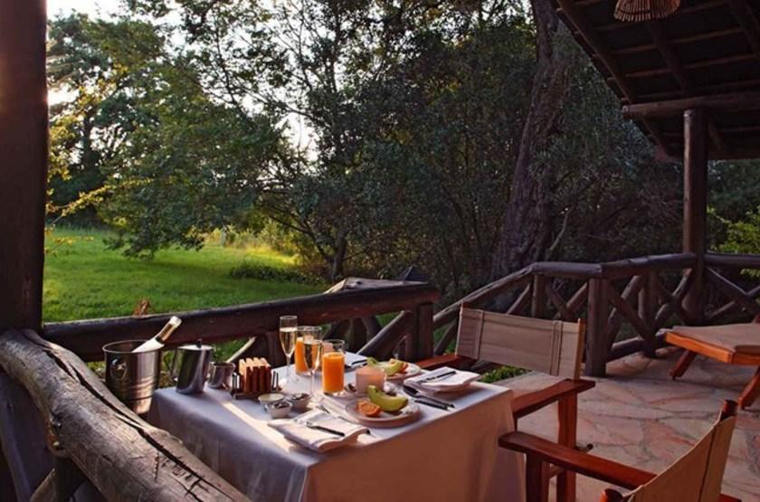 Mara Sarova Game Camp, Masai Mara, Kenya, terrasse