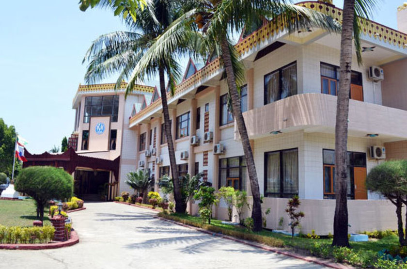 Birmanie - Royal Sittwe Resort - Vue extérieure