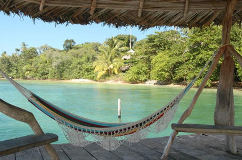 Al Natural Resort, Bastimentos Isla, Panama, terrasse
