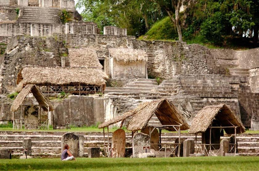 Chaa Creek Lodge, San Ignacio, Belize, ruines Maya