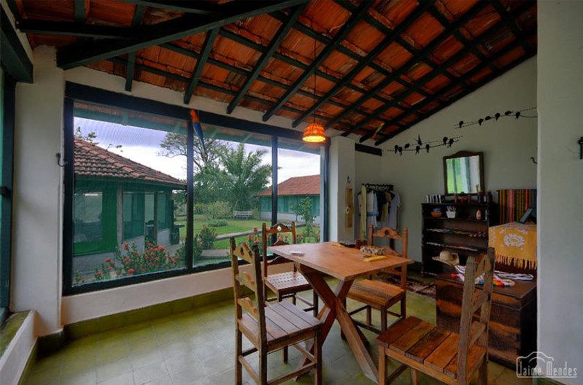Brésil - Pantanal - Barra Mansa - Intérieur appartement