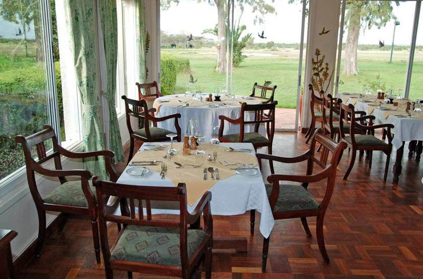 Sweetwaters Serena Tented Camp, Ol Pejeta, Kenya, restaurant