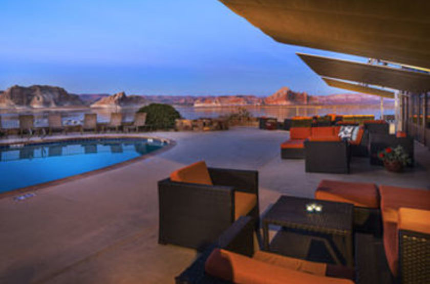 Lake Powell Resort - Lake Powell, Etats Unis, terrasse