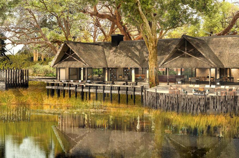Botswana - King's Pool - Vue extérieure du lodge