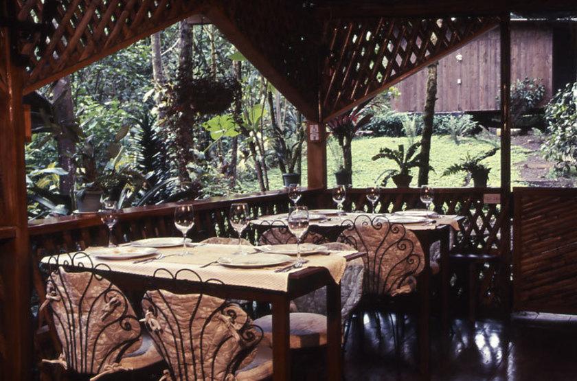 El Septimo Paraiso Lodge, Mindo, Equateur, restaurant