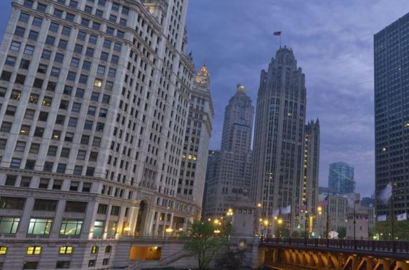 Inn Of Chicago, Etats Unis, extérieur