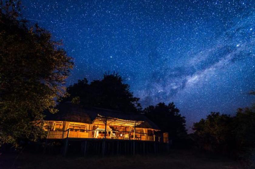 Bilimungwe Camp, South Luangwa, Zambie, extérieur