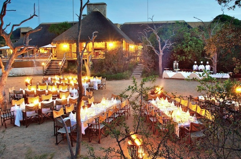 Kapama River Lodge, Afrique du Sud, restaurant
