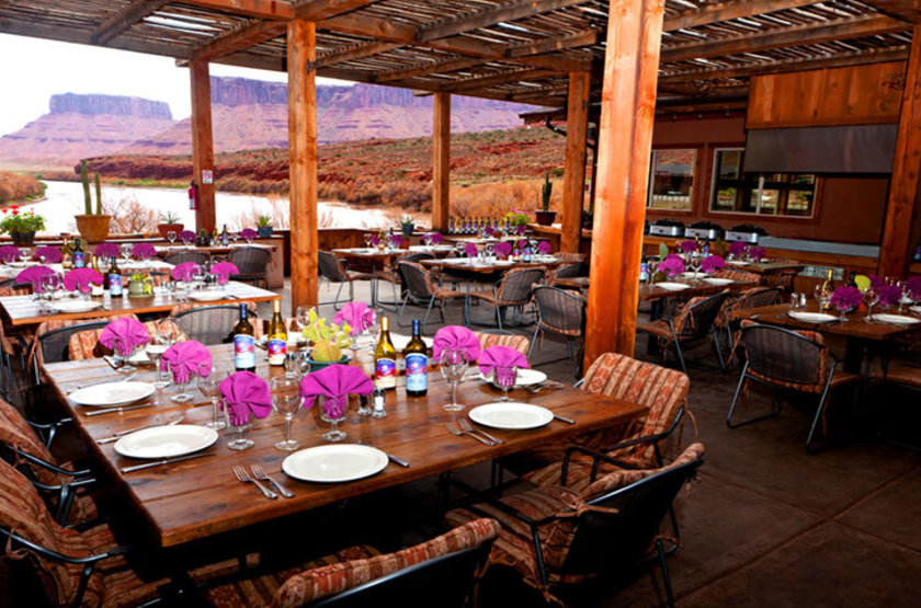 Red Cliff Adventure Lodge, Moab, Etats Unis, restaurant