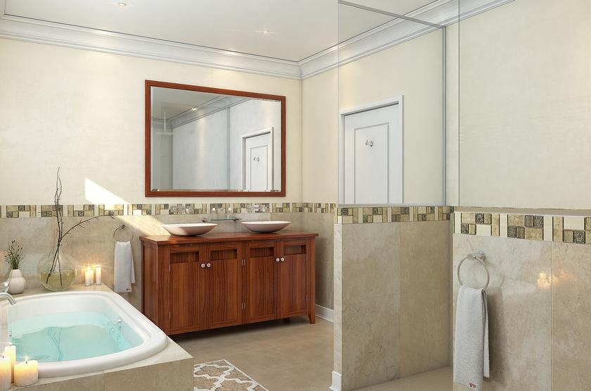 Batonka Guest Lodge, Victoria Falls, Zimbabwe, salle de bains