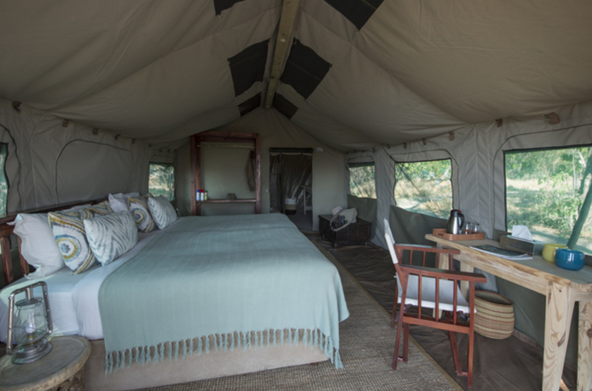 Gometi Tented Camp Exploration, Santawani concession, Botswana, intérieur