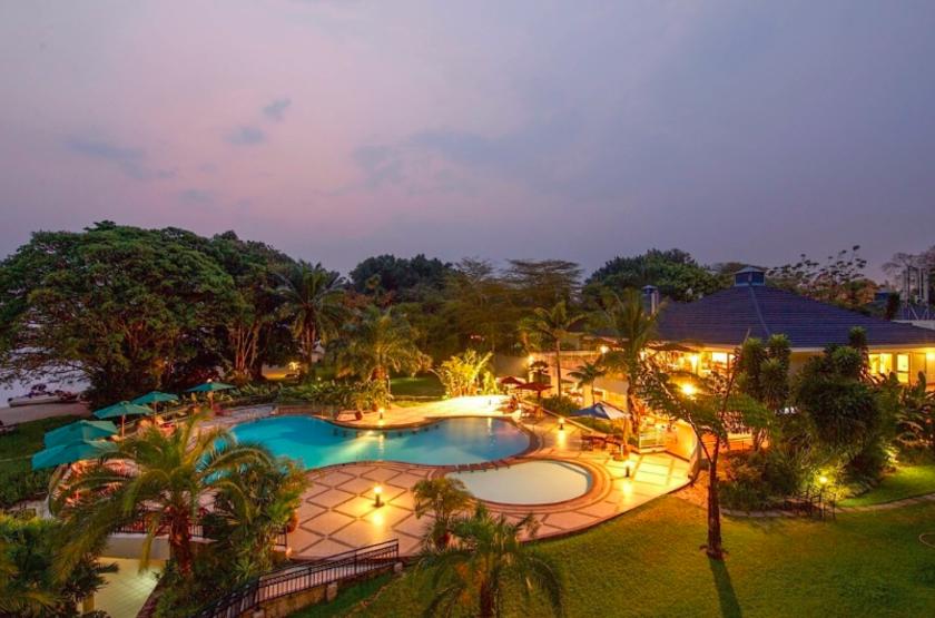 Lake Kivu Serena, Rwanda, piscine