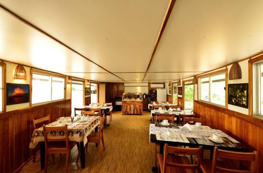 Brésil - Bateau Mutum Expeditions - Salle restaurant