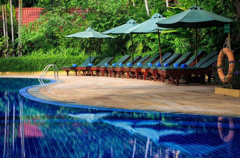 Cambodge - Angkor Paradise - Piscine