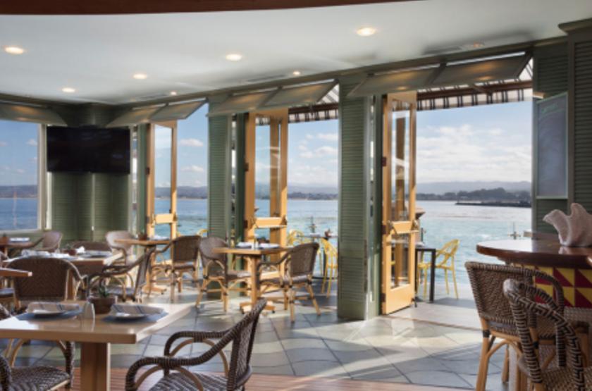 Monterey Plaza Hotel & Spa, Etats Unis, restaurant