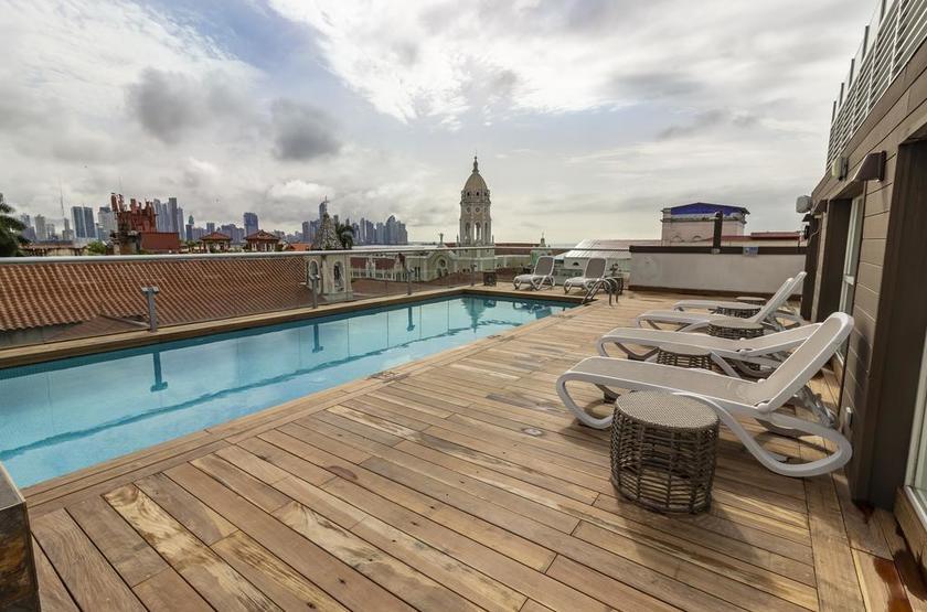 Panama - Hotel Central - Piscine sur le toit