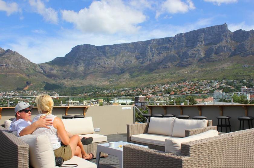 Le Leeuwenvoet, Cape Town, Afrique du Sud, terrasse