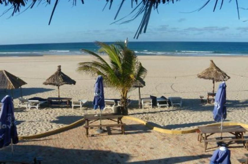 Barra lodge, Inhambane, Mozambique, plage