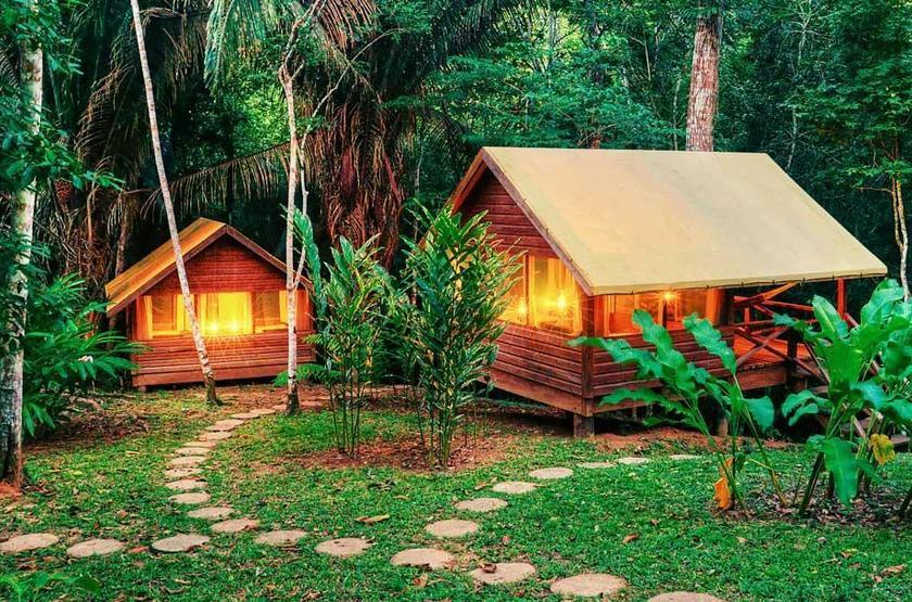 Chaa Creek Lodge, San Ignacio, Belize, casitas