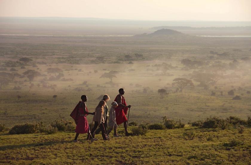 Elewana Tortilis Camp, Amboseli, Kenya, safari à pied