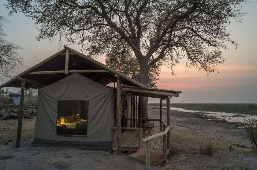 Linyanti Tented Camp, Botswana, tente