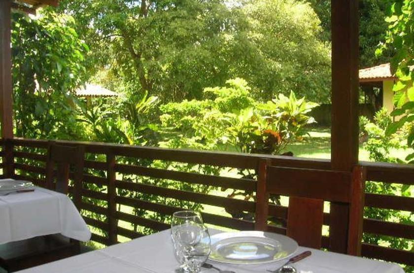 Brésil - O Canto do Francês - table terrasse