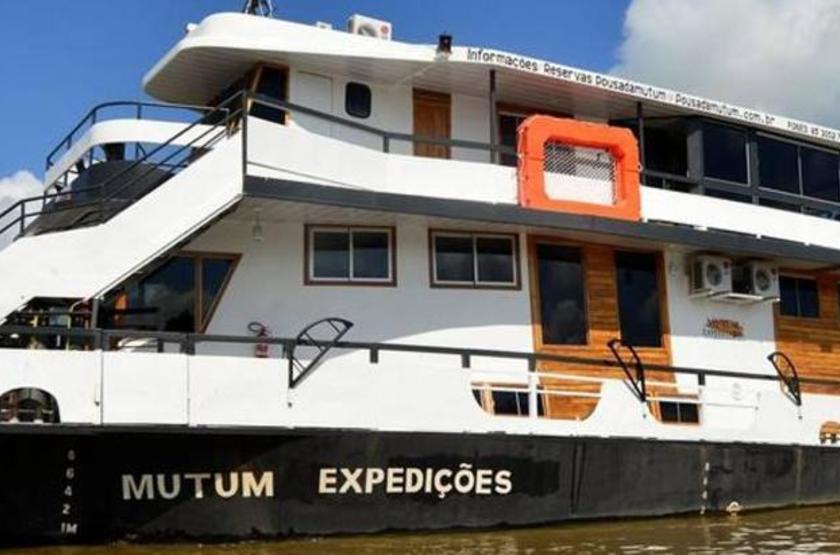 Brésil - Bateau Mutum Expeditions - Vue bateau