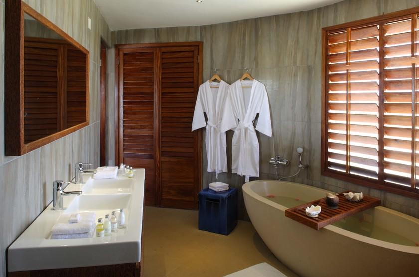 Coral Lodge, Reserve de Varanda, Mozambique, salle de bains