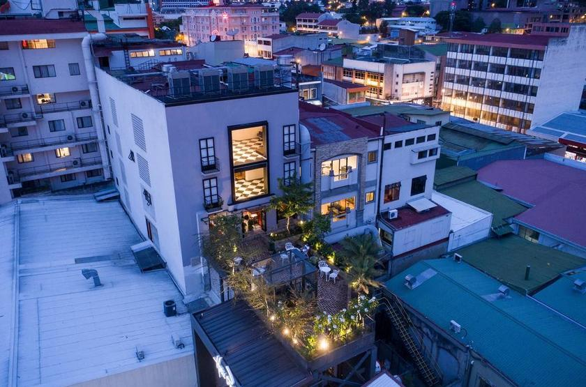 Costa Rica - Hotel Presidente - Vue extérieure