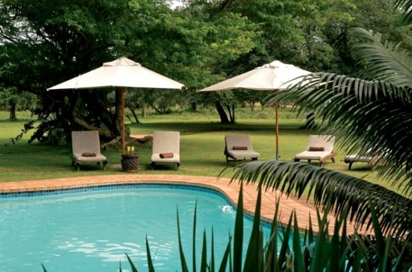 Falaza Game Lodge, Afrique du Sud, piscine