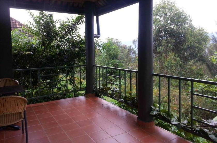 Nyungwe Top View Hill Hotel, Rwanda, terrasse