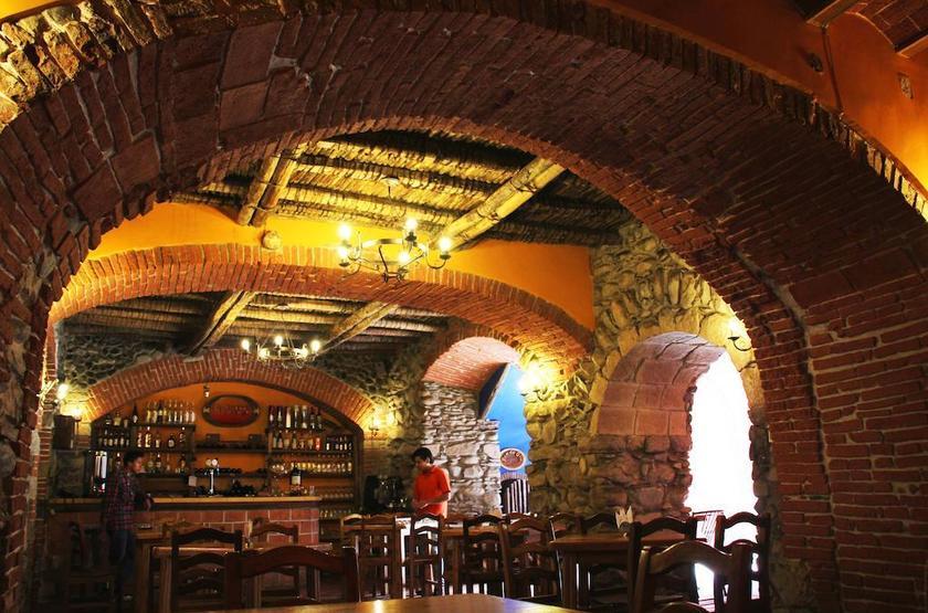 Bolivie - Casa de Piedra - Restaurant