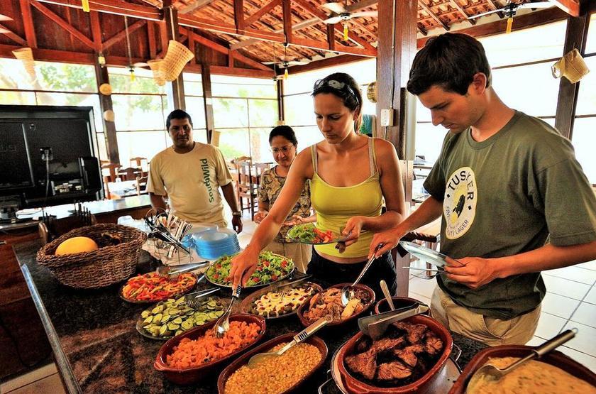 Brésil - Fazenda Santa Tereza - Restaurant