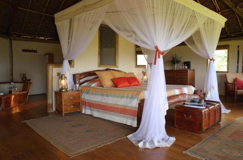 Elewana Tortilis Camp, Amboseli, Kenya, chambre