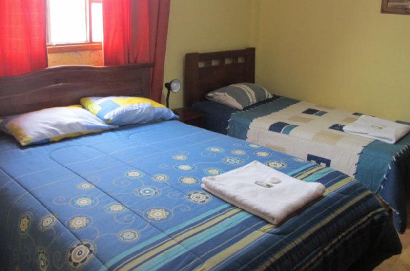 Chili - Altiplano - Chambre