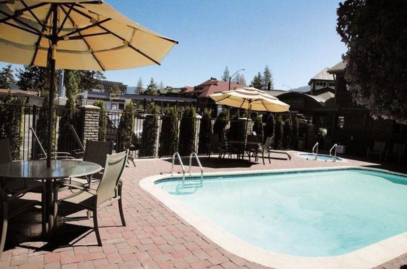 Park Tahoe Inn, South Lac Tahoe, Etats Unis, piscine