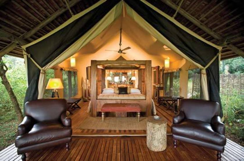 &Beyond Bateleur Camp, Masai Mara, Kenya, tente