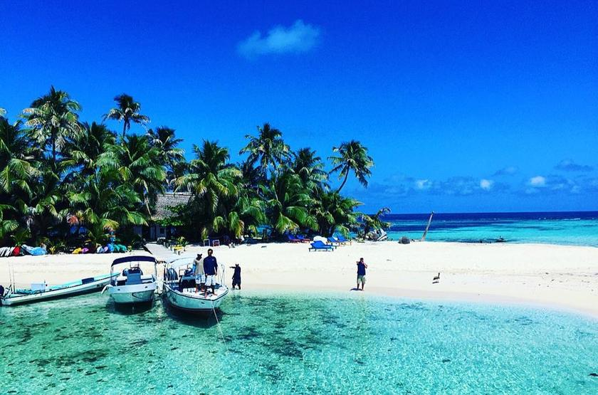Ranguana Caye Cabanas, Belize, île de Placencia, sport nautique