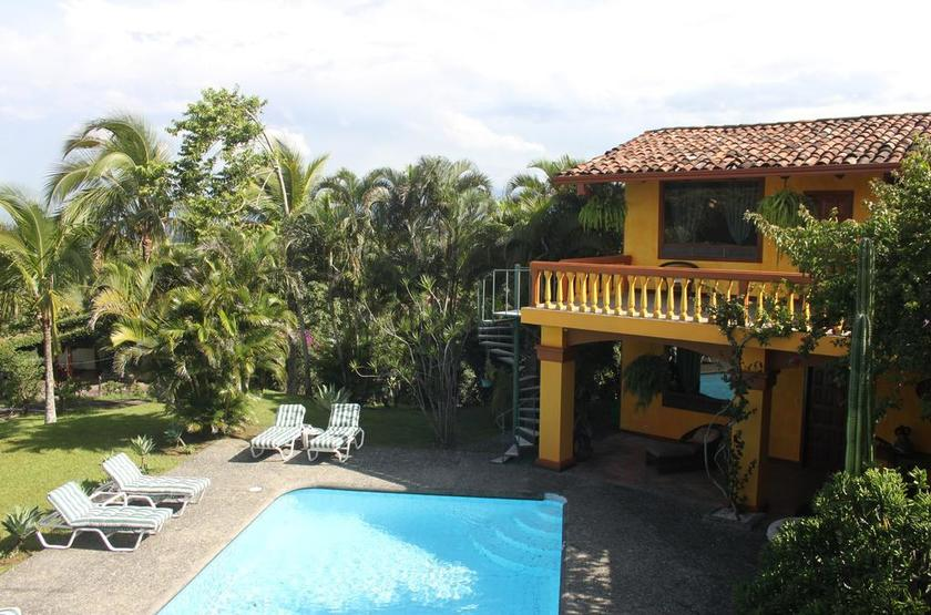 Costa Rica - Posada Canal Grande - Piscine