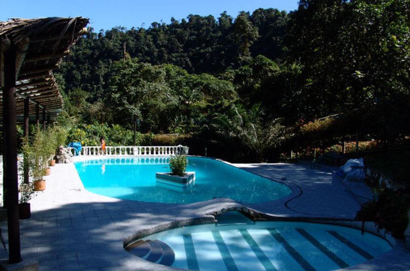 El Septimo Paraiso Lodge, Mindo, Equateur, piscine