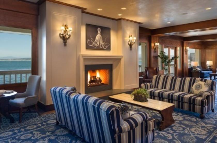 Monterey Plaza Hotel & Spa, Etats Unis, salon