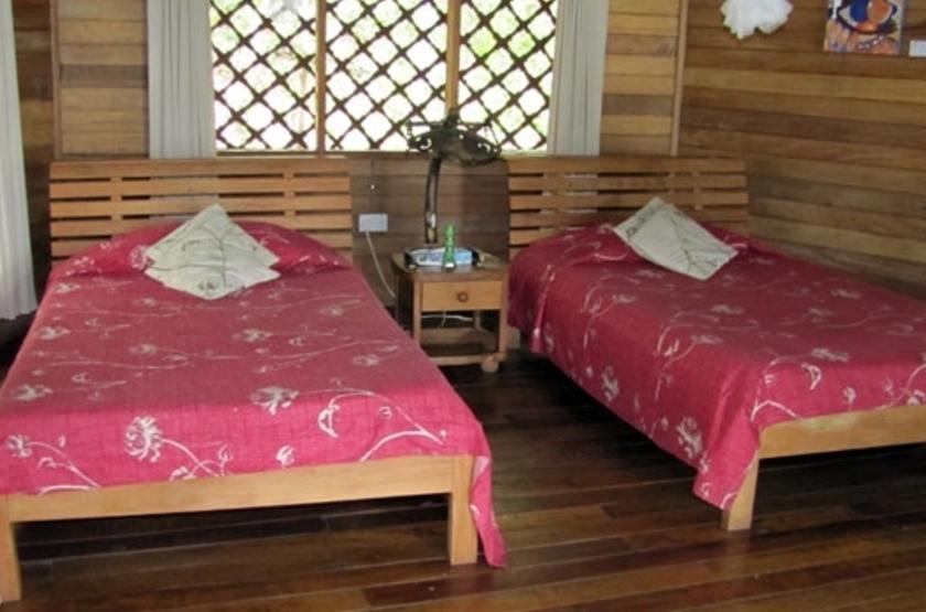 Jacana Safari Lodge, lac Nyamusingir, Ouganda, intérieur